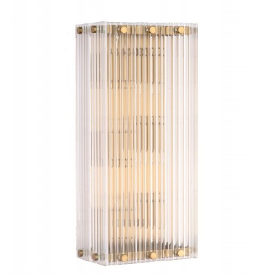 Бра NEWPORT 10226/A brushed brass
